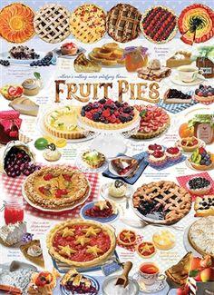 Banoffee Pie, Lemon Meringue Pie, Fruit Pie, Strawberry Pie, Delicious Fruit, Pastry Recipes, Freshly Baked, Jigsaw Puzzles, Sweets