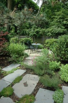 Yard -- because I have lots of sandy spots that would do well with cement slabs and greenery.