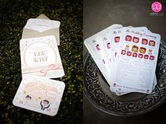 cute wedding programs!