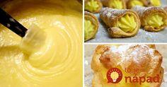 Najlepší citrónový krém: Do koláčov, zákuskov aj k pečivu!