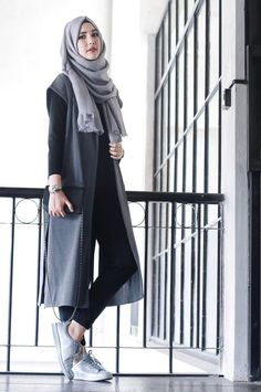 I liked the way she wears her hijab