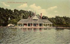 Conneaut Lake Park Pennsylvania The I B F Club Beach 1909