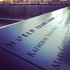 TO DO: Pay my respects at the World Trade Center Memorial (New York City, NY)