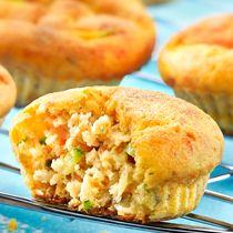 Muffins de saumon