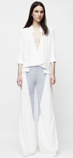 A wide-leg pant makes a fresh statement for summer.