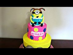 How to make a Minion Topper - YouTube