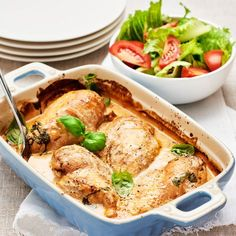 Gratinerad kyckling med ris | Recept ICA.se