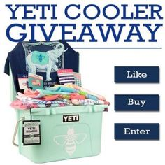 Yeti Cooler #Giveaway 9/7