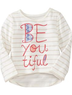 3T Old Navy | Striped Graphic Circle Tees