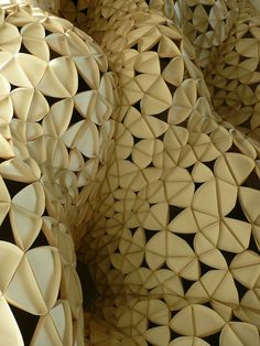 Voussoir Cloud    IwamotoScott Architecture - 'Voussior Cloud' @ the SCI-Arc Gallery in Los Angeles