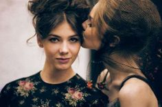 Dreamy Backstage Photography - The Ulyana Sergeenko SS 2012 Images Reveal an Elegant Collections