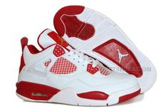 http://www.nikeriftshoes.com/air-jordan-4-pe-melo-white-leather-red-for-sale.html Only$88.00 AIR #JORDAN 4 PE MELO WHITE LEATHER RED FOR SALE #Free #Shipping!