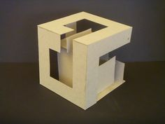 Planar Implied Cube Study Model 5 by Samongi