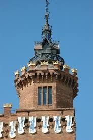 Resultado de imagen de castell dels tres dragons parc de la ciutadella