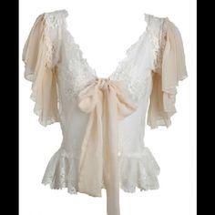 Lucile Lingerie - Sally Jones 'Honeymoon' Bed Jacket - Sally Jones - Brands