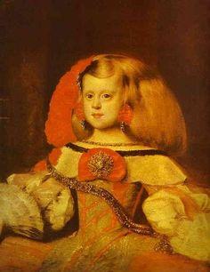 Диаго Веласкес. Инфанта Маргарита. 1658-60. Холст, масло. Музей искусств им. Богдана и Варва