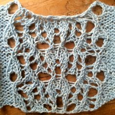 The word Greenland encoded as a free lace pattern and other designs.