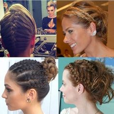 @fortesthiago separou algumas sugestões de tranças lindas pra nos inspirar! A ideia é diversificar o penteado das várias formas possíveis! Gostaram de todas? Nós amamos! ❤️ @fortesthiago has separated some suggestions of beautiful braids to inspire us ! The idea is to diversify the hairstyle in several possible ways! Did you like them? We loved it!❤️ #hair #hairstyle #cabelos #penteados #beauty #beleza #braids #tranças