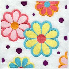Machine Embroidery Designs at Embroidery Library! - 1970s Fashion