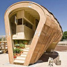 Spanish Confederation of Wood >> Wonderful tiny-home!