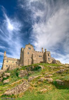 St Michael's Mount in Cornwall.