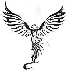 phoenix rising by deviantbydesign on DeviantArt, - phoenix tattoo Phoenix Tattoo Feminine, Tribal Phoenix Tattoo, Small Phoenix Tattoos, Phoenix Tattoo Design, Tribal Tattoos, Small Tattoos, Tattoos For Guys, Polynesian Tattoos, Samoan Tattoo