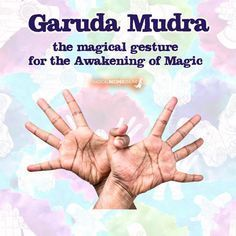 The Garuda Mudra (aka Eagle Mudra) : the Awakening Mudra Pilates Training, Yoga Pilates, Mental Training, Daily Meditation, Chakra Meditation, Kundalini Yoga, Pranayama, Iyengar Yoga, Yoga Routine