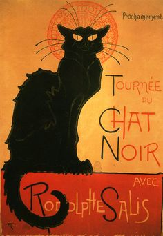 History of Art: cats in art- I have this poster on my kitchen wall- my friend Hazel sent me it!