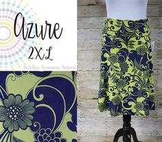 LuLaRoe Azure – a knee-length, A-line skirt looks dressy and polished, but it's knit fabric and flattering fold-over waist makes it feel like your favorite pair of yoga pants. Win win. LuLaRoe LuLaRoeAzure LuLaRoeHarmonyPackard LuLaRoeHPack https://www.facebook.com/Lularoeharmonypackard/