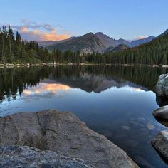 Bear Lake Loop 17 Colorado Trails That Should Be On Every Hiker's Bucket List Denver Colorado, Colorado Trail, Colorado Springs, Colorado Mountains, Rocky Mountains, Bear Lake Colorado, Places To Travel, Places To See, Camping Places