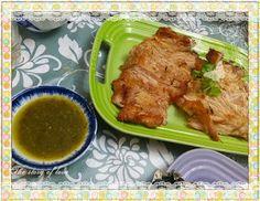 concon 煮意 blog: 泰式燒豬頸肉