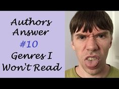 Question What are your least favourite genres to read? I talk about the genres I don't like to read, including genres such as romance, horror, and sparkl. I Win, Romance, Author, Writing, This Or That Questions, Reading, Books, Fun, Romance Film