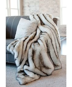 Donna Salyers' Fabulous-Furs : Limited Edition Series Throw : style # 366416801