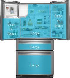 Fridge coasters for new fridge