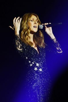 VIDEO ~ Celine Dion pays tribute to her husband, Rene Angelil, at first concert back in Las Vegas since his death. Very, very touching...