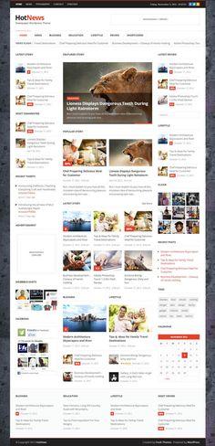 Top Premium News and Magazine Responsive WordPress Themes