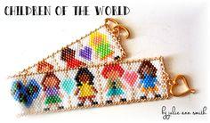 CHILDREN OF THE WORLD Bracelet Pattern | Bead-Patterns