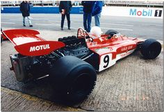 1970 Lotus Ford 72 F1. Historic F1 Cars 1994 Silverstone.