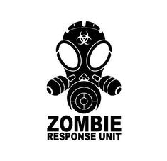 Zombie Outbreak Response Team Many different sizes and colors available! The walls and car decals are made with different vinyl, so I have many different colors in car v. Car Stickers, Car Decals, Vinyl Decals, Cricut Vinyl, Silhouette Projects, Silhouette Cameo, Zombie Gifts, Zombie Art, Custom Vinyl