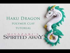 DIY Spirited Away Haku Dragon Polymer Clay Tutorial - YouTube