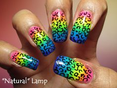 My Simple Little Pleasures: NOTD: Acid Leopard