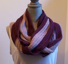 Longwood Infinity Scarf by YarnConfections | Crocheting Pattern