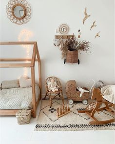 Investing in a Montessori floor bed is a great way to give your toddler more freedom and help them develop independence and self-help skills. Here are some of the best floor bed options for every style and budget! Baby Bedroom, Baby Room Decor, Nursery Room, Girl Room, Girls Bedroom, Nursery Decor, Room Baby, Montessori Bedroom, Montessori Baby
