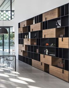 Pitsou Kedem unveils items from Object furniture collection Pitsou Kedem furniture Shelf Design, Cabinet Design, Wall Design, House Design, Etagere Design, Pitsou Kedem, Bibliotheque Design, Muebles Living, Regal Design