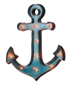 Love this Anchor Metal LED Wall Décor on #zulily! #zulilyfinds