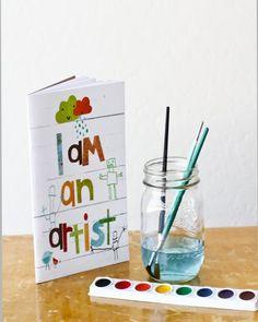 KIds Art Journals