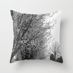 Before There Was Color Throw Pillow by Hena Tayeb - $20.00