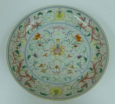 Tennants Auctioneers: A Chinese Porcelain Saucer Dish