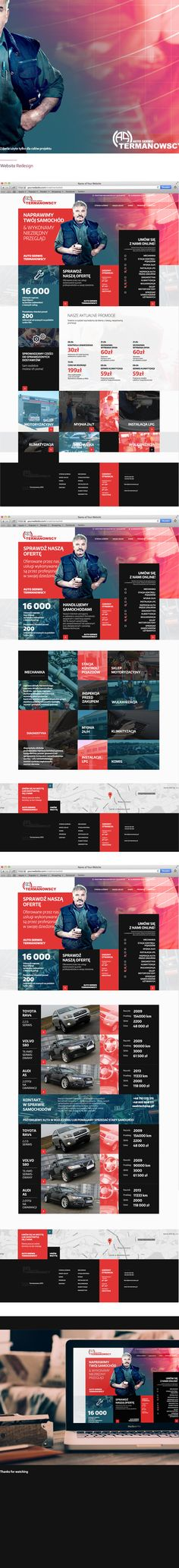 TERMANOWSCY AUTO SERWIS on Behance