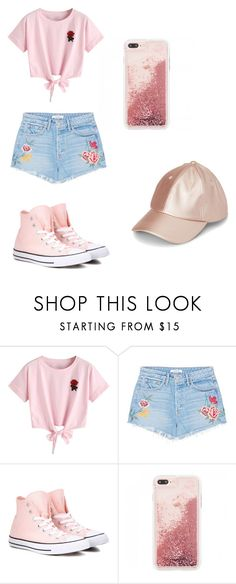 Everyday by kennedy13-05 on Polyvore featuring WithChic, GRLFRND and Converse